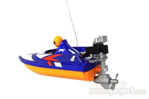mini rc boat mini micro rc speed boat blue