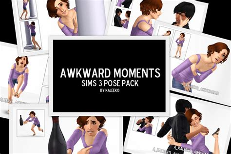 Mod The Sims   Awkward Moments   A Pose Pack