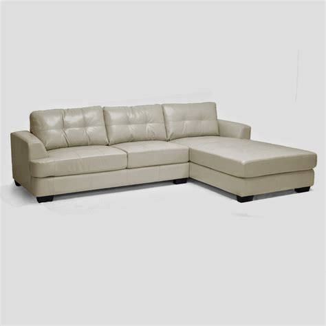 White Leather Sectional Sofa With Chaise White Leather White Leather With Chaise