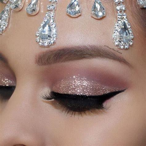 Eyeshadow No Glitter best 25 glitter eye makeup ideas on