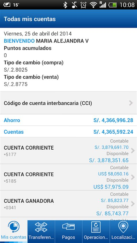 cmo saber el saldo de mi cuenta del banco ave villas bbva continental banca m 243 vil android apps on google play