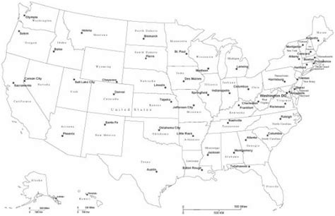 map of the united states and their capitals free map of american states holidaymapq