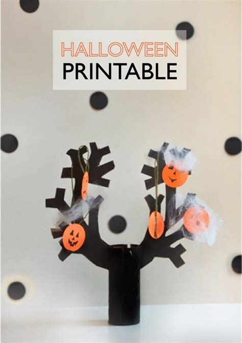 printable decorations scary spooky tree printable these are a print cut