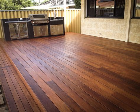 quality wide merbau decking boards
