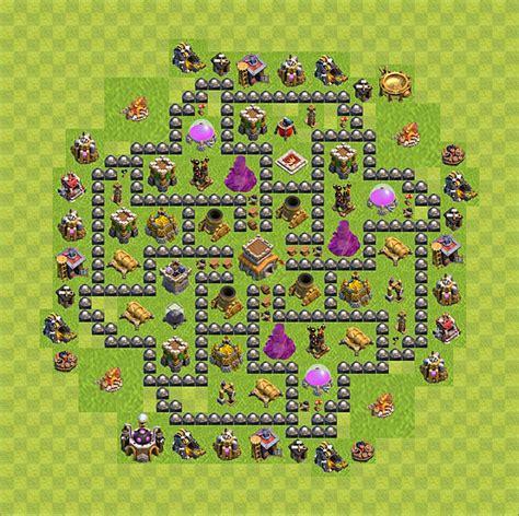 coc layout rathaus 8 die base f 252 r troph 228 en verteidigung in clash of clans