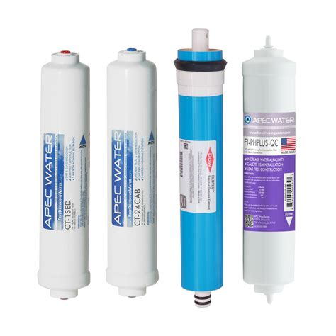 Countertop Osmosis Water Filter System by Apec Water Systems Apec Complete Filter Set For Ultimate