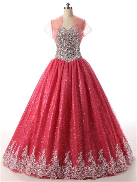 beaded bolero jackets for evening dresses gown sweetheart sequined tulle beaded prom dress