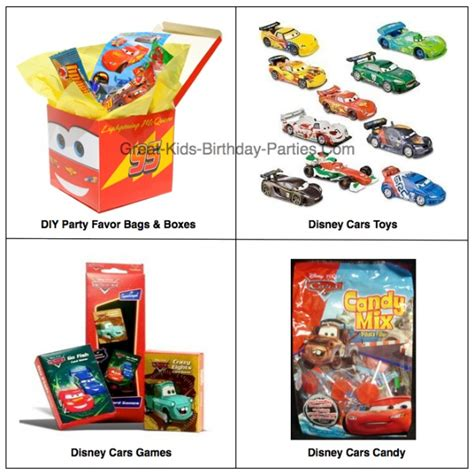 cars themed birthday giveaways disney cars birthday party