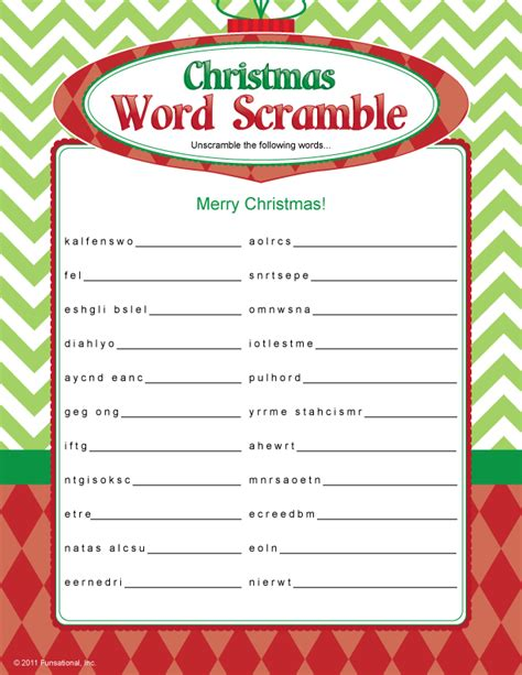 educational christmas games printable christmas word scramble christmas decorating ideas