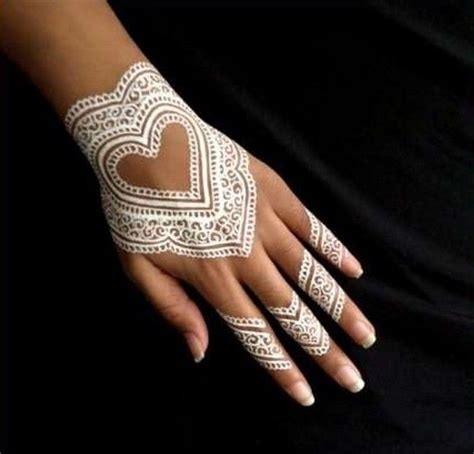 henna tattoos white henna designs tattoos beautiful