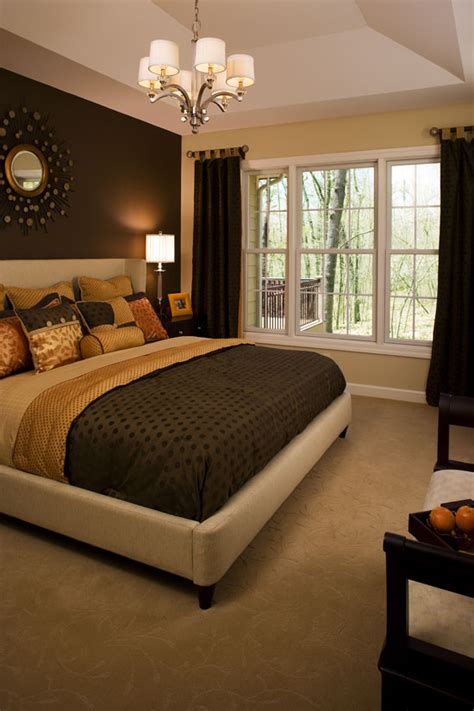 master bedroom colors master bedroom the dark wall serves as a great focal