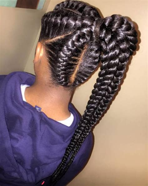 Black Hair Braid Hairstyles by Braid Hairstyles For Black American