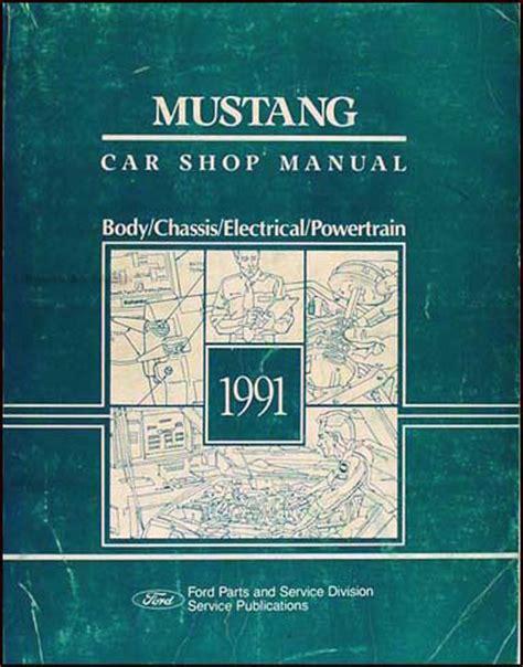 car maintenance manuals 1991 ford mustang auto manual 1991 mustang workshop manual autos post