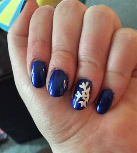 Easy Winter Nail Designs For Nails 20 simple easy winter nail designs ideas