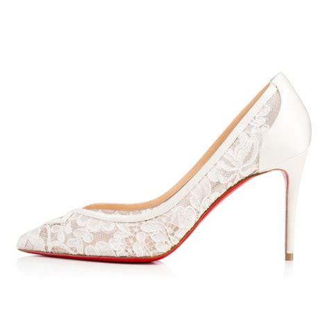 Wedding Shoes Louboutin by Christian Louboutin Ivory Bridal Shoes
