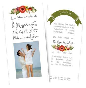 Hochzeitseinladung Jugendstil by Wir Drucken Einlaudungsarten Auf Den Neuesten