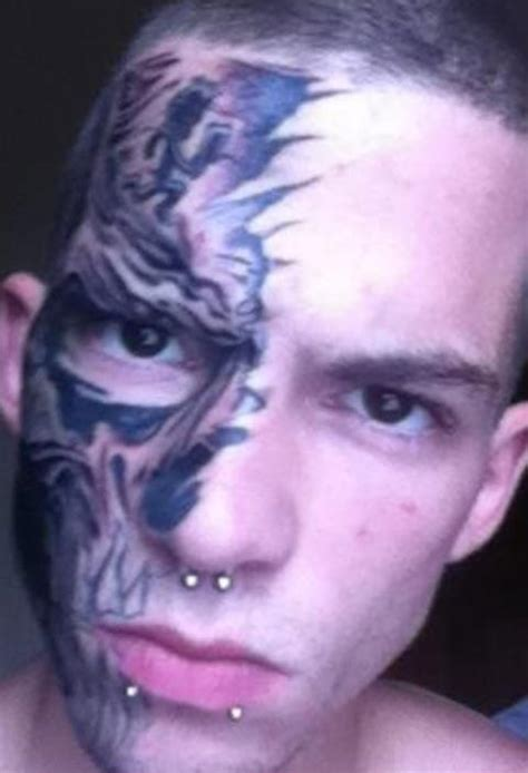 two face bad tattoo pictures