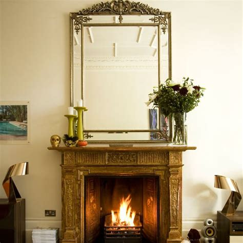 Fireplace Ideas Uk distressed fireplace modern decorating ideas photo
