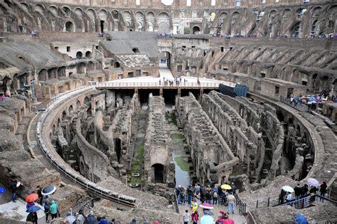 Floor Plan Simulator rome officials consider reinstalling floor of colosseum