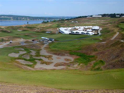 chambers bay layout for us open seven years of planning for golf s 2015 u s open about to