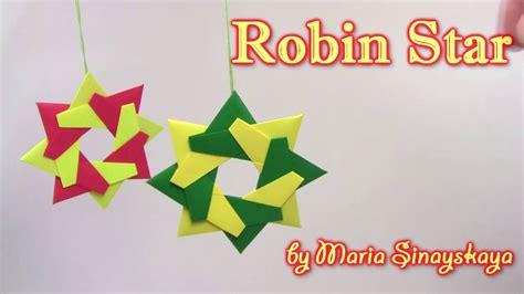 Origami Robin - origami robin by sinayskaya