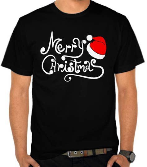Kaos Merry jual kaos merry logo natal