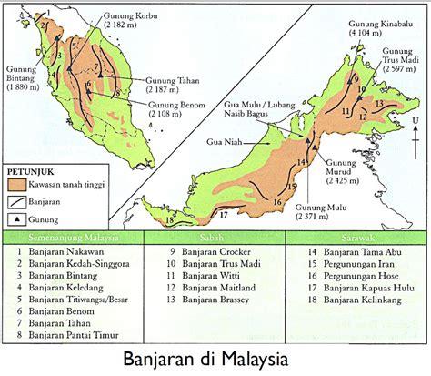 4 Di Malaysia Banjaran Di Malaysia