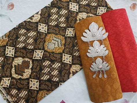 Kain Batik Pekalongan Wajik Printing Tanpa Embos 1 kain batik pekalongan batik printing sogan warna ka2