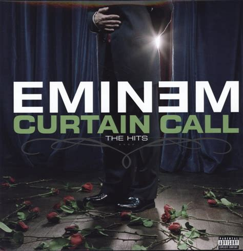 eminem curtain calls eminem curtain call the hits vinyl lp discrepancy records
