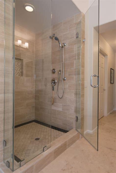 Tile Shower Doors 25 Best Ideas About 12x24 Tile On Pinterest Large Tile Shower Tiled Bathrooms And Porcelain
