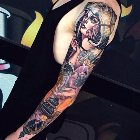 36 perfect sleeve tattoos for guys with style tattooblend