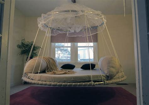 round hanging bed 50 round beds that will transform your bedroom