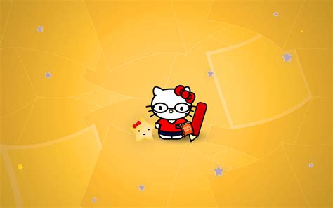 wallpaper hello kitty nerd hello kitty nerd wallpaper 436700