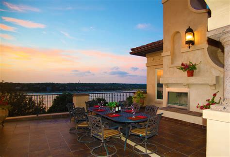 open terrace mediterranean patio austin by asomoza homes design build