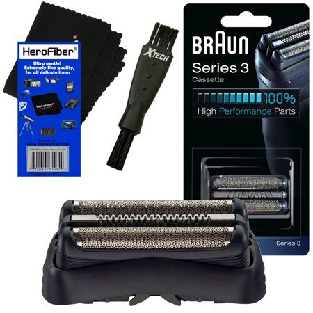 braun series 3 32b cassette braun 32b replacement foil cassette black for series