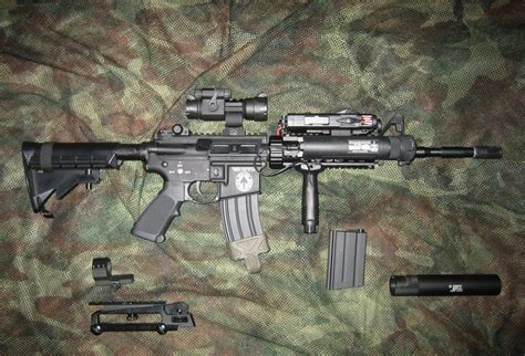 Pisir M4 Dan Gas weapon m4a1