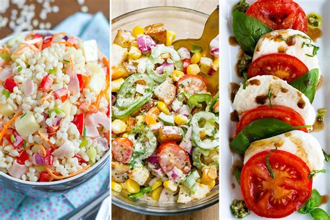 easy salad recipes easy healthy salad recipes 22 ideas for summer eatwell101