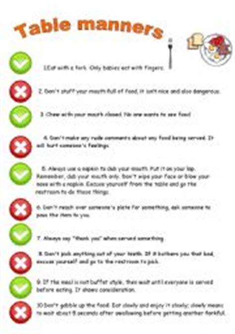 printable etiquette quiz etiquette manners preschool worksheets etiquette best