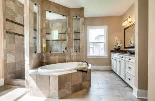 Bathroom Showers Ideas sonoma a owner s bath with walk through shower new home