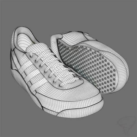 sled booties skeleton sled shoes helmet 3d model