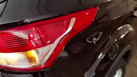 2013 ford escape brake light 2013 2016 ford escape suv test tail lights after