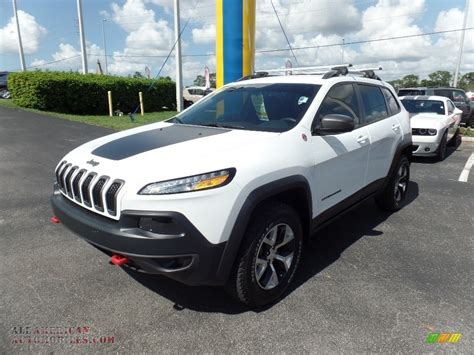 jeep trailhawk white 2016 jeep trailhawk 4x4 in bright white photo 22