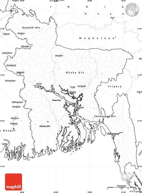 coloring page of bangladesh map blank simple map of bangladesh