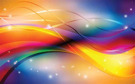 Animal Ornaments by Abstract Backgrounds With Shiny Waves Vector 02 Vector