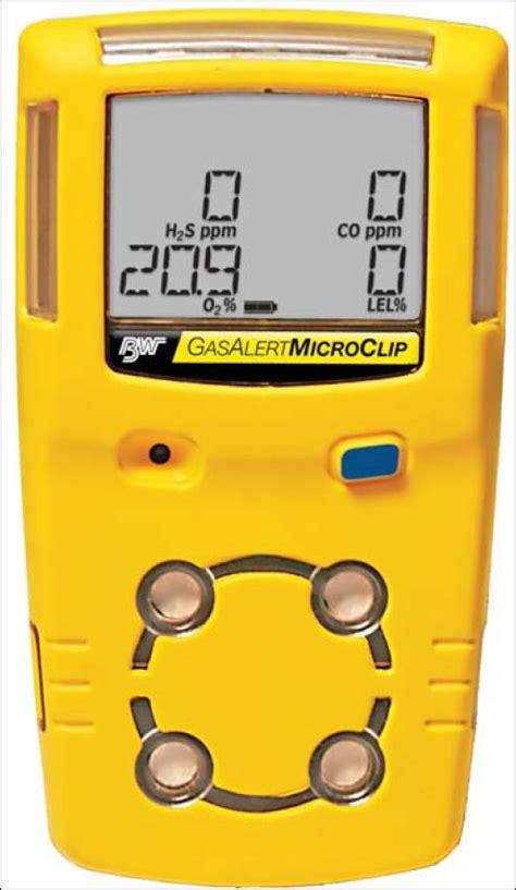Multi Gas Detector gasalert microclip multi gas detector
