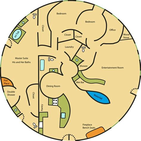 circle house plans circle ranch stone house floor plan fun and dream home ideas pi