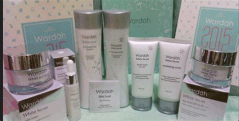 1 Paket Wardah White Secret paket wardah white secret series