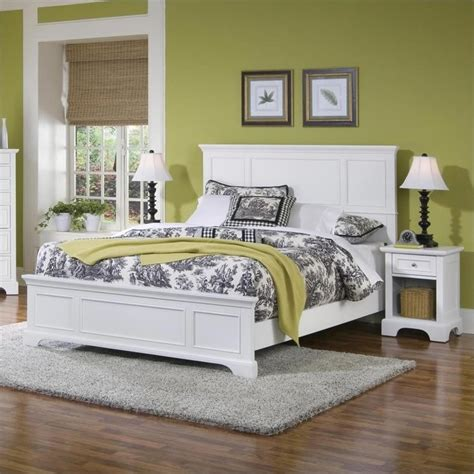2 piece bedroom set queen panel bed 2 piece bedroom set in white 5530 5013