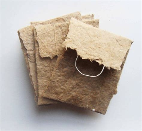 Handmade Paper Envelope - ready to ship handmade paper mini envelopes set of 5