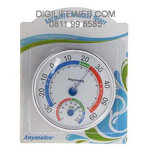 Thermometer Hygrometer Thermo Hygro Manual Suhu Dan Kelembapan analog thermometer hygrometer anymetre 101